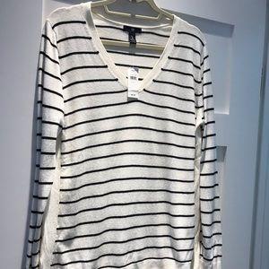 Women's Gap striped sweater size L